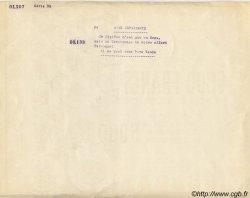 5000 Francs - 5000 Soupes FRANCE régionalisme et divers  1941 KL.06 NEUF