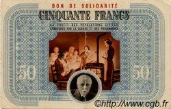 50 Francs BON DE SOLIDARITÉ FRANCE régionalisme et divers  1941 KL.09A pr.SUP