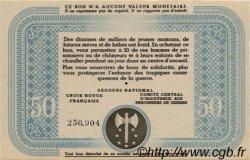 50 Francs BON DE SOLIDARITÉ FRANCE régionalisme et divers  1941 KL.09C pr.NEUF