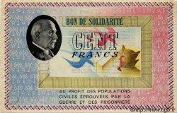 100 Francs FRANCE régionalisme et divers  1941 KL.10B1 TTB+