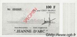 100 Francs JEANNE D
