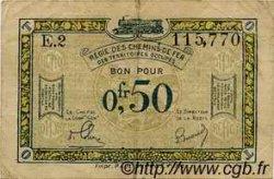 50 Centimes FRANCE régionalisme et divers  1923 JP.04