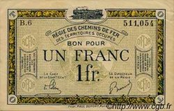 1 Franc FRANCE régionalisme et divers  1923 JP.05 SUP