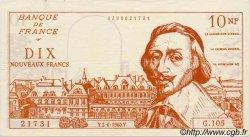 10 Nouveaux Francs RICHELIEU FRANCE régionalisme et divers  1960  SUP