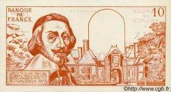 10 Nouveaux Francs RICHELIEU FRANCE régionalisme et divers  1960  NEUF