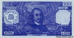100 Francs CORNEILLE FRANCE régionalisme et divers  1964  SPL