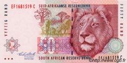 50 Rand AFRIQUE DU SUD  1992 P.125b pr.NEUF