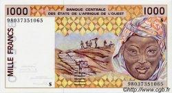 1000 Francs GUINÉE BISSAU  1998 P.911Sb NEUF