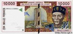 10000 Francs MALI  1998 P.414Dg NEUF