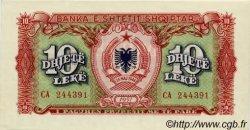 10 Leke ALBANIE  1957 P.28a NEUF