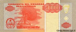 50000 Kwanzas Reajustados ANGOLA  1995 P.138 NEUF