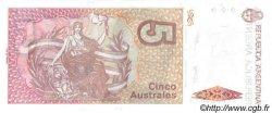 5 Australes ARGENTINE  1986 P.324b NEUF