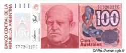 100 Australes ARGENTINE  1985 P.327c NEUF