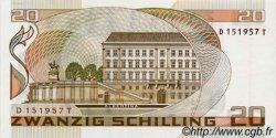 20 Schilling AUTRICHE  1986 P.148 NEUF
