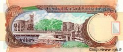 10 Dollars BARBADE  2000 P.62 NEUF