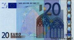 20 Euros BELGIQUE  2002 €.120.15 NEUF