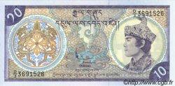 10 Ngultrum BHOUTAN  1986 P.15a NEUF