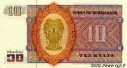 10 Kyats BIRMANIE  1973 P.58 NEUF