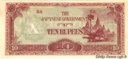 10 Rupees BIRMANIE  1942 P.16a NEUF