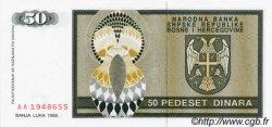 50 Dinara BOSNIE HERZÉGOVINE  1992 P.134a NEUF