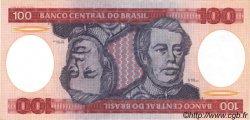 100 Cruzeiros BRÉSIL  1981 P.198a NEUF
