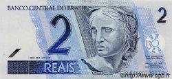 2 Reals BRÉSIL  2001 P.249a NEUF