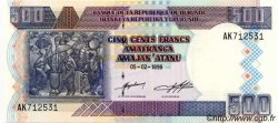 500 Francs BURUNDI  1999 P.38b NEUF
