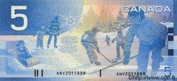 5 Dollars CANADA  2002 P.101 NEUF