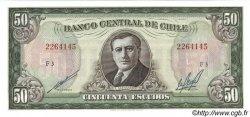 50 Escudos CHILI  1970 P.140b NEUF