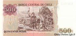 500 Pesos CHILI  1999 P.153e NEUF