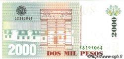 2000 Pesos COLOMBIE  2000 P.445 NEUF