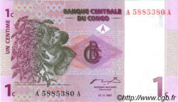 1 Centime CONGO  1997 P.80a NEUF