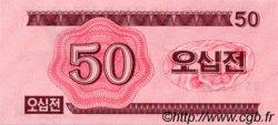 50 Chon CORÉE DU NORD  1988 P.34 NEUF