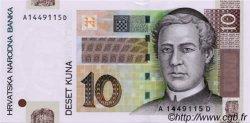 10 Kuna CROATIE  2001 P.38a pr.NEUF