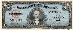 1 Peso CUBA  1960 P.077b NEUF
