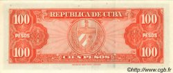 100 Pesos CUBA  1959 P.093a pr.NEUF