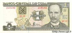 1 Peso CUBA  2003 P.121c NEUF