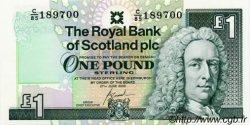 1 Pound ÉCOSSE  2000 P.351e NEUF