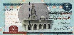5 Pounds ÉGYPTE  2002 P.063a NEUF