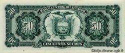 50 Sucres ÉQUATEUR  1984 P.122 NEUF