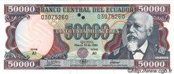 50000 Sucres ÉQUATEUR  1999 P.130b