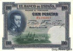 100 Pesetas ESPAGNE  1925 P.069c TTB