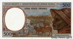 500 Francs RÉPUBLIQUE CENTRAFRICAINE  1999 P.301F.var. NEUF