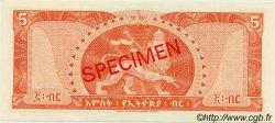 5 Dollars ÉTHIOPIE  1966 P.26s NEUF