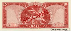 10 Dollars ÉTHIOPIE  1966 P.27s NEUF