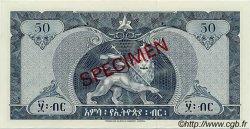 50 Dollars ÉTHIOPIE  1966 P.28s NEUF