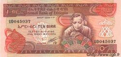 10 Birr ÉTHIOPIE  1991 P.43b pr.NEUF
