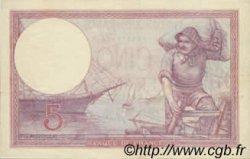 5 Francs VIOLET FRANCE  1917 F.03 TTB