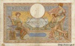 100 Francs LUC OLIVIER MERSON grands cartouches FRANCE  1923 F.24 TB à TTB