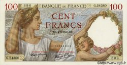 100 Francs SULLY FRANCE  1939 F.26 SUP